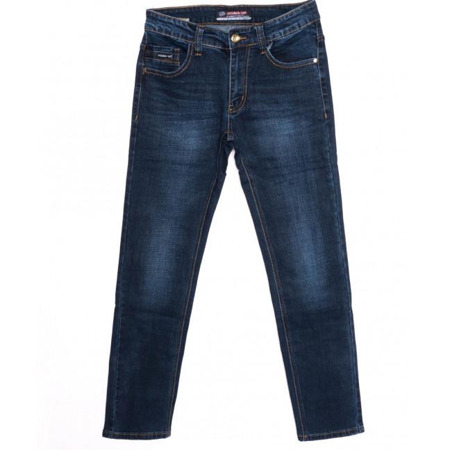 8015 Vouma-Up джинсы мужские молодежные синие осенние стрейчевые (28-36, 8 ед.)  Vouma-Up: артикул 1097366