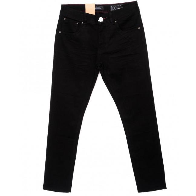 2155 Fang джинсы мужские черные осенние стрейчевые (29-36, 8 ед.) Fang: артикул 1097251