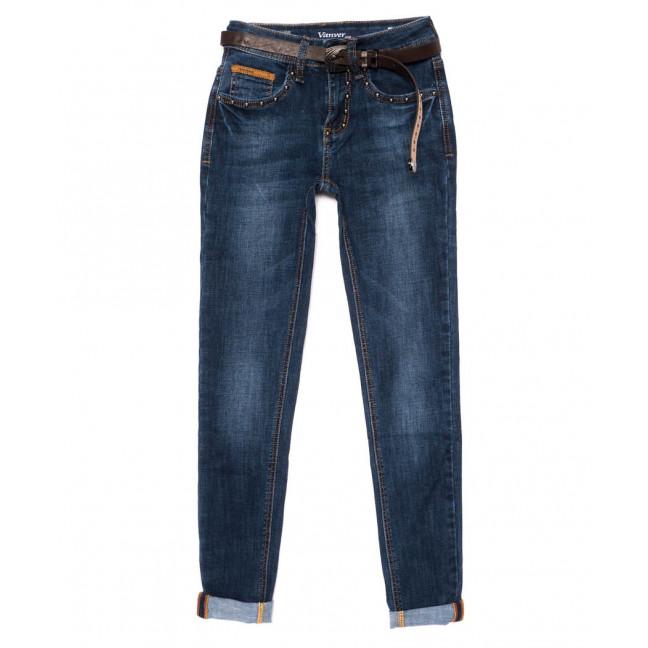 8161 Vanver джинсы женские стильные синие осенние стрейчевые (25-30, 6 ед.) Vanver: артикул 1098077