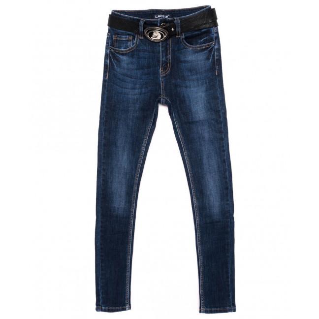 1418 Lady N джинсы женские синие осенние стрейчевые (25-30, 6 ед.)  Lady N: артикул 1098193