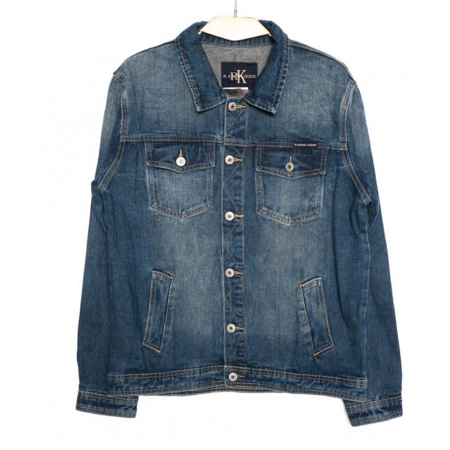 1005-2 R.Kroos куртка мужская джинсовая синяя осеняя котоновая (M-4XL, 6 шт.) R.Kroos: артикул 1097217