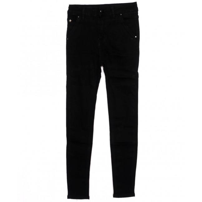 3395 New jeans американка черная осенняя стрейчевая (25-30, 6 ед.)  New Jeans: артикул 1098616