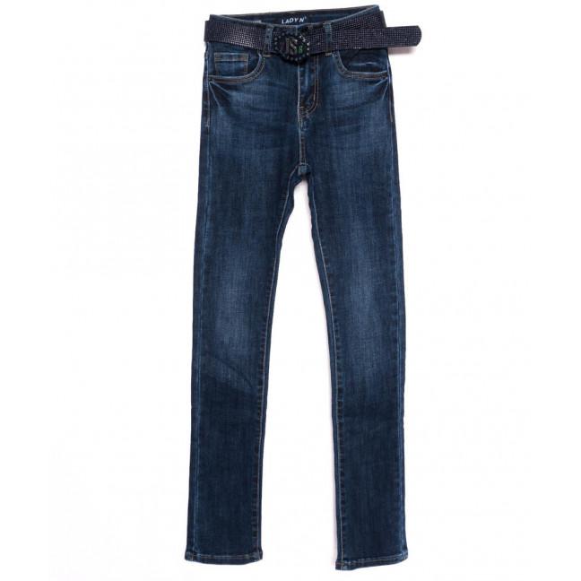1419 Lady N джинсы женские синие осенние стрейчевые (25-30, 6 ед.)  : артикул 1098188