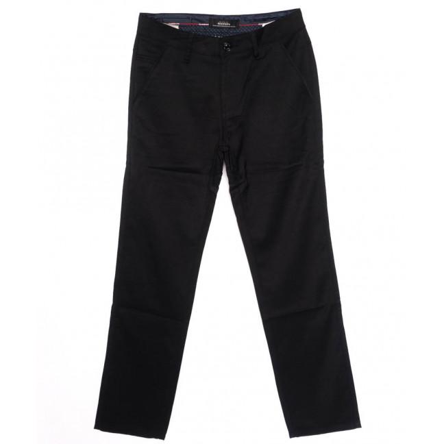 0037-K1 New Feerars джинсы мужские молодежные черные осенние стрейчевые (27-34, 8 ед.)  New Feerars: артикул 1097369