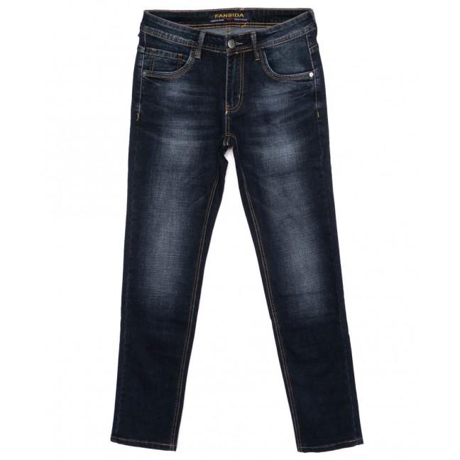 6111 Fansida джинсы мужские синие осенние стрейчевые (29-38, 8 ед.) Fansida: артикул 1098361