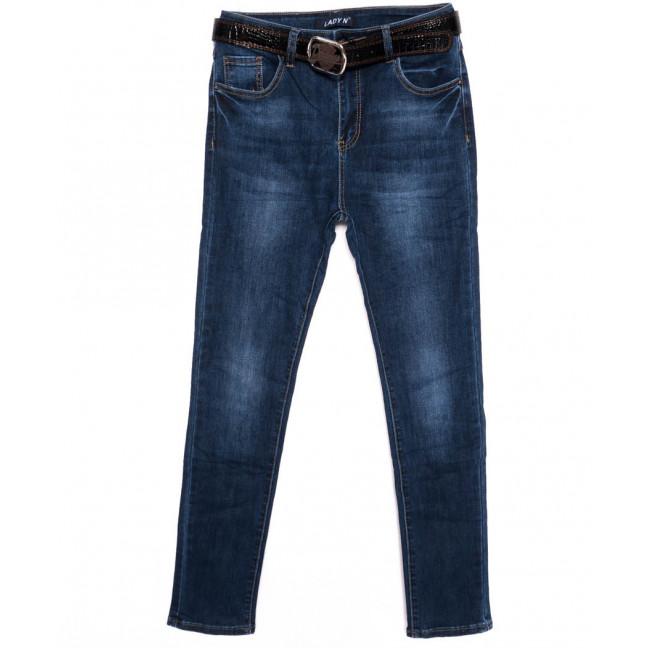 1422 Lady N джинсы женские батальные синие осенние стрейчевые (30-36, 6 ед.)  Lady N: артикул 1098189