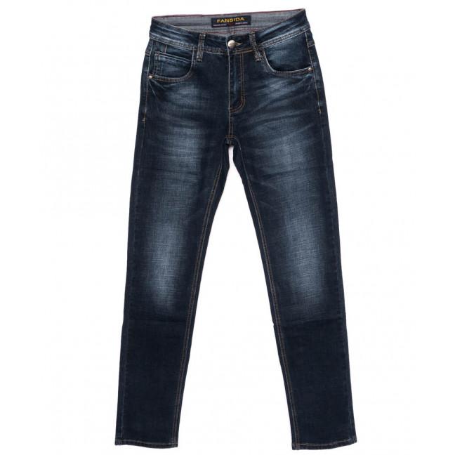 0691 Fansida джинсы мужские синие осенние стрейчевые (29-36, 8 ед.) Fansida: артикул 1098364