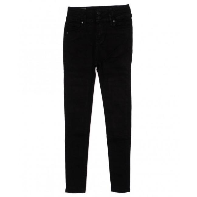 3362 New jeans американка черная осенняя стрейчевая (25-30, 6 ед.)  New Jeans: артикул 1098641