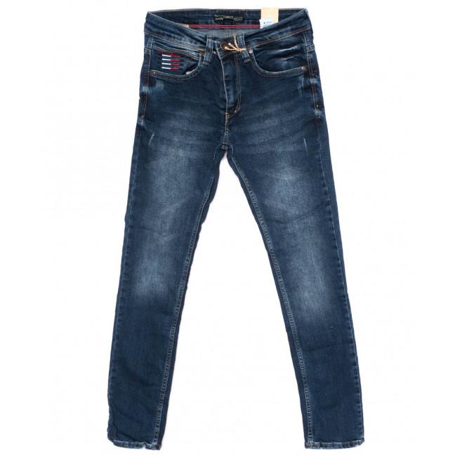 5890 Corcix джинсы мужские с царапками синие осенние стрейчевые (29-36, 8 ед.) Corcix: артикул 1098381