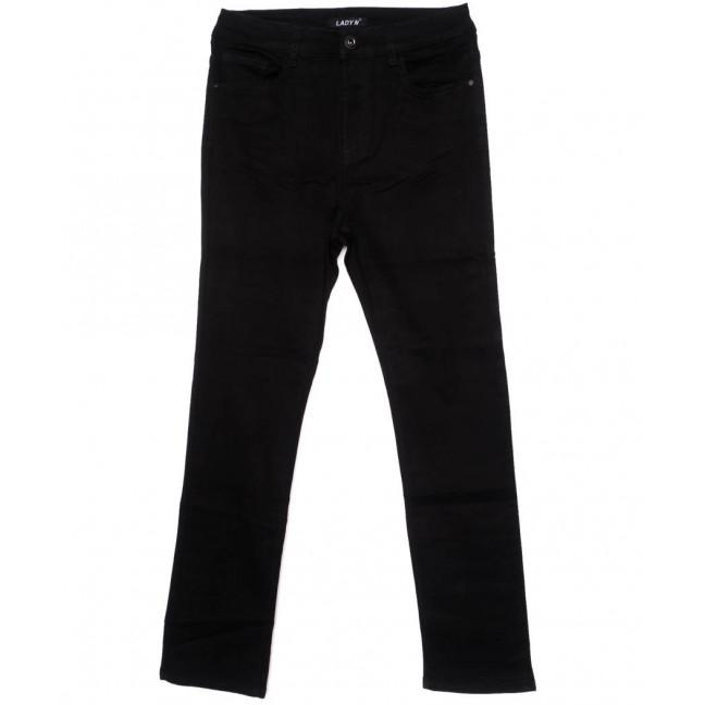 1436 Lady N джинсы женские батальные черные осенние стрейчевые (31-38, 6 ед.) Lady N: артикул 1097855