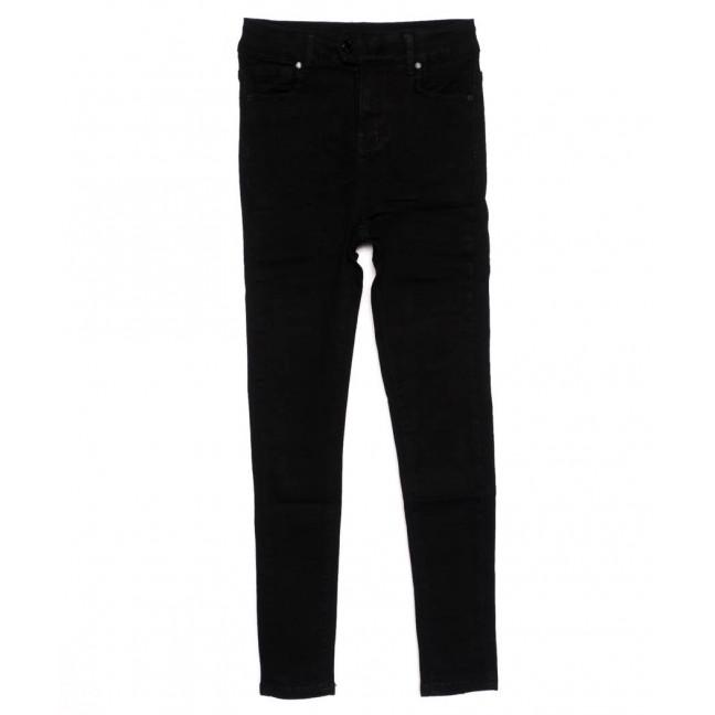 3369 New jeans американка черная осенняя стрейчевая (25-30, 6 ед.)  New Jeans: артикул 1098638