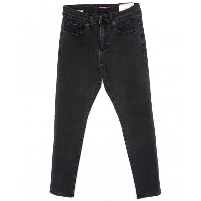 0474 Red Moon джинсы мужские темно-серые осеннии стрейчевые (29-36, 7 ед.) Red Moon: артикул 1098586