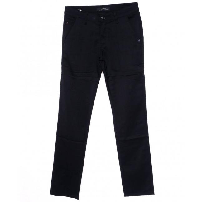 0220-2 Feerars брюки мужские батальные темно-синие осеннии стрейч-котон (32-38, 8 ед.) Feerars: артикул 1098562