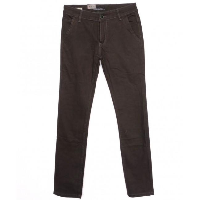 140086 LS брюки мужские молодежные с карманами на резинке осенние стрейчевые (28-34, 7 ед.) LS: артикул 1097696