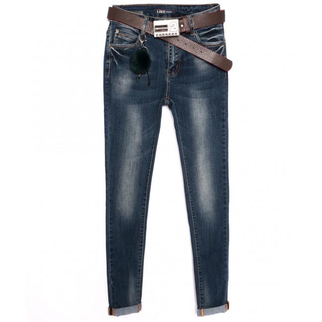 6158 Like джинсы женские зауженные осенние стрейчевые (25-30, 6 ед.) Like: артикул 1097965