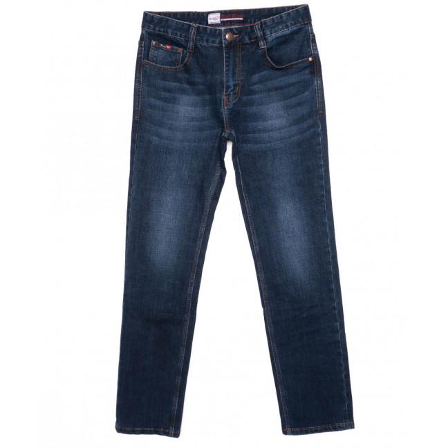 0207 Rodi джинсы мужские батальные темно-синие осенние стрейчевые (32-38, 8 шт.) Rodi: артикул 1097222