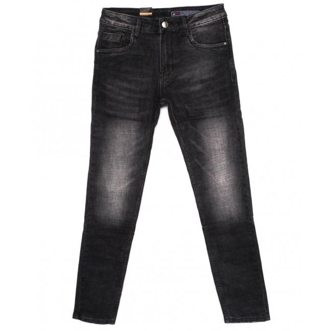 8182 Fuors джинсы мужские темно-серые осеннии стрейчевые (29-36, 7 ед.) Fuors: артикул 1098565