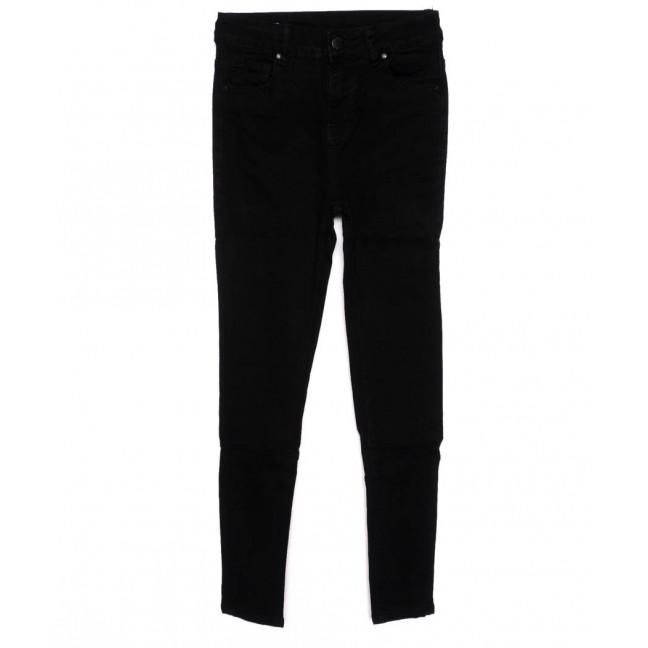 3372 New jeans американка черная осенняя стрейчевая (25-30, 6 ед.)  New Jeans: артикул 1098604