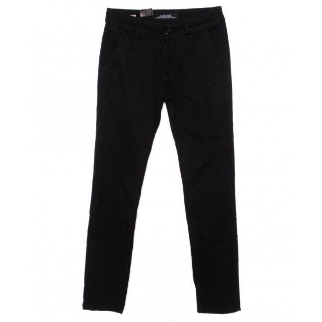 140094 LS брюки мужские молодежные черные осенние стрейчевые (28-34, 8 ед.) LS: артикул 1097702