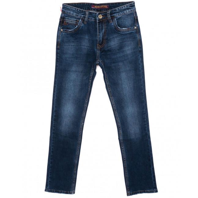 8596 Good Avina джинсы мужские синие осенние стрейч-котон (31-38, 8 ед.) Good Avina: артикул 1097070