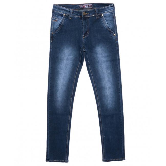 2701 Bagrbo джинсы мужские молодежные синие осенние стрейчевые (28-36, 8 ед.) Bagrbo: артикул 1096926
