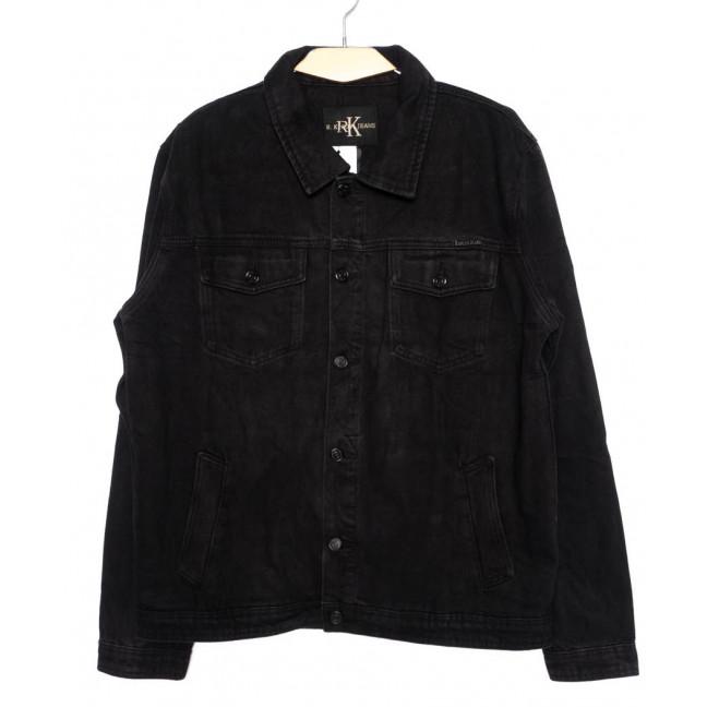 1003-1 R.Kroos куртка мужская джинсовая черная осенняя котоновая (L-5XL, 6 ед.) R.Kroos: артикул 1098215
