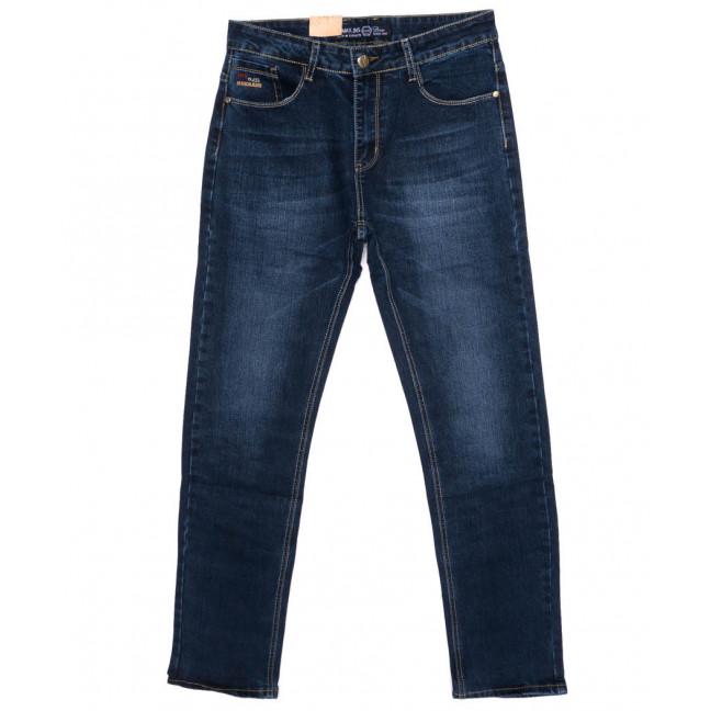 0508 G-Max джинсы мужские батальные синие осенние стрейч-котон (32-36, 8 ед.)  G-Max: артикул 1098200