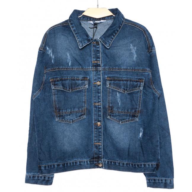 1386 Lady N куртка джинсовая женская батальная осенняя котоновая (2XL-6XL, 6 ед.) Lady N: артикул 1096997