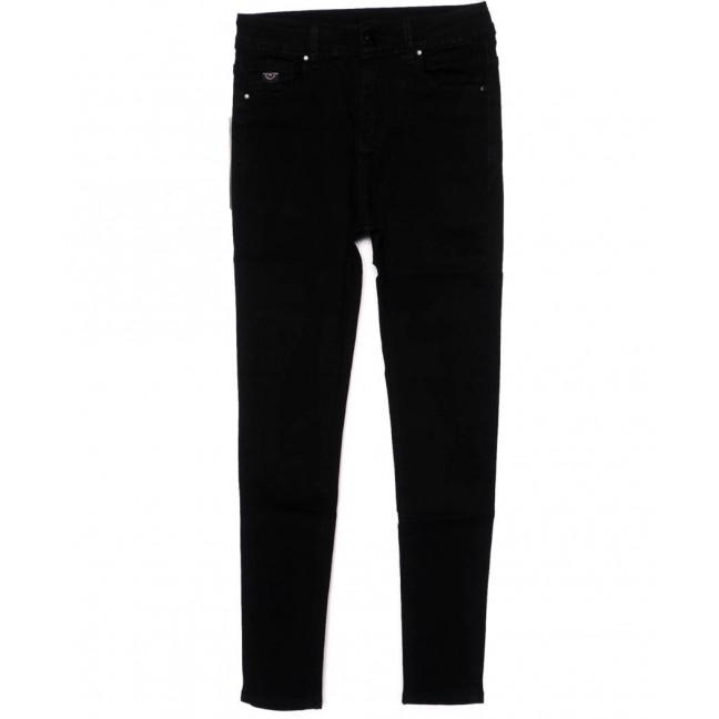 3391 New jeans американка черная осенняя стрейчевая (25-30, 6 ед.)  New Jeans: артикул 1098634