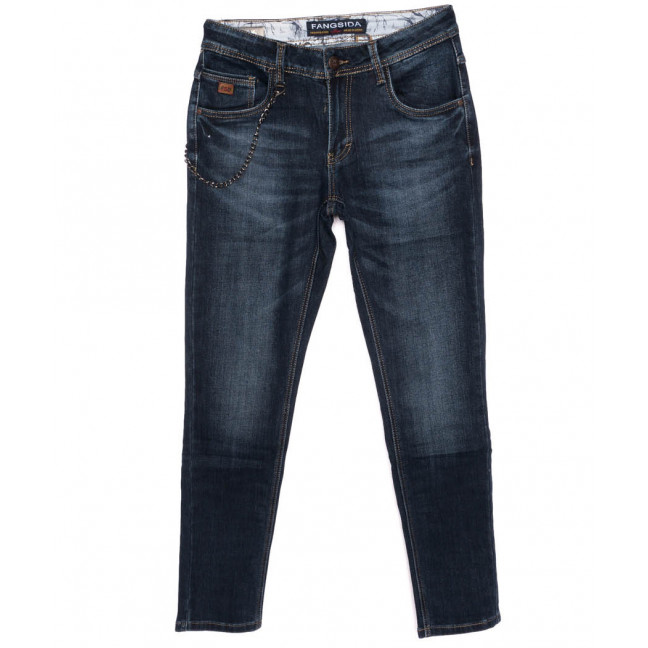 8179 Fangsida джинсы на мальчика синие осенние стрейчевые (26-33, 8 ед.)  Fangsida: артикул 1097406