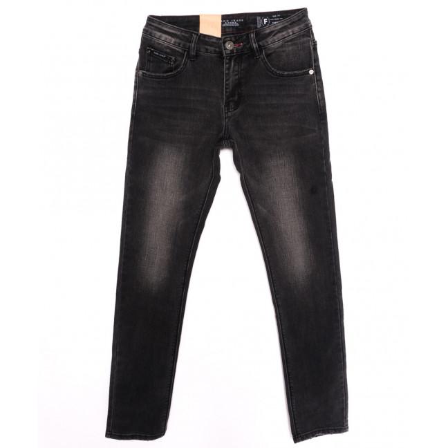 2151 Fang джинсы мужские молодежные темно-серые осенние стрейчевые (28-34, 8 ед.) Fang: артикул 1097969