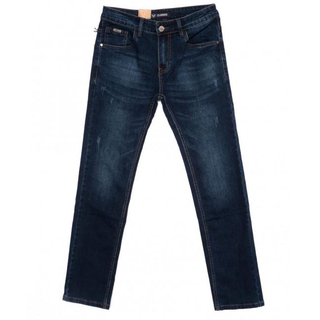 1003 LS джинсы мужские с царапками синие осенние стрейч-котон (29-38, 8 ед) LS: артикул 1098501