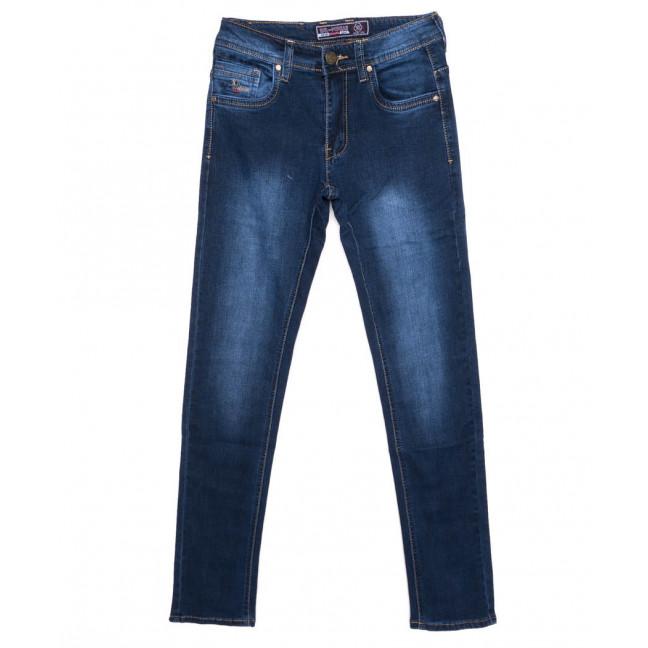 2703 Bagrbo джинсы мужские молодежные синие осенние стрейчевые (27-34, 8 ед.)  Bagrbo: артикул 1097359