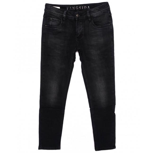 8172 Fangsida джинсы мужские молодежные зауженные темно-серые осенние стрейчевые (28-36, 8 ед.) Fangsida: артикул 1096956