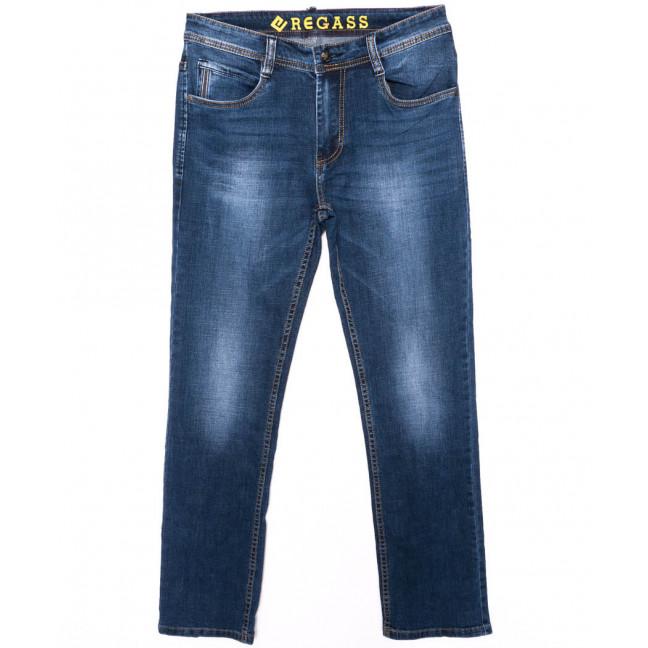 7896-03 Regass джинсы мужские батальные синие осенние стрейчевые (32-38, 7 ед.) Regass: артикул 1096967