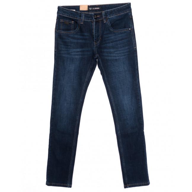 120238 LS джинсы мужские молодежные зауженные осенние стрейчевые (27-34, 8 ед.) LS: артикул 1097902