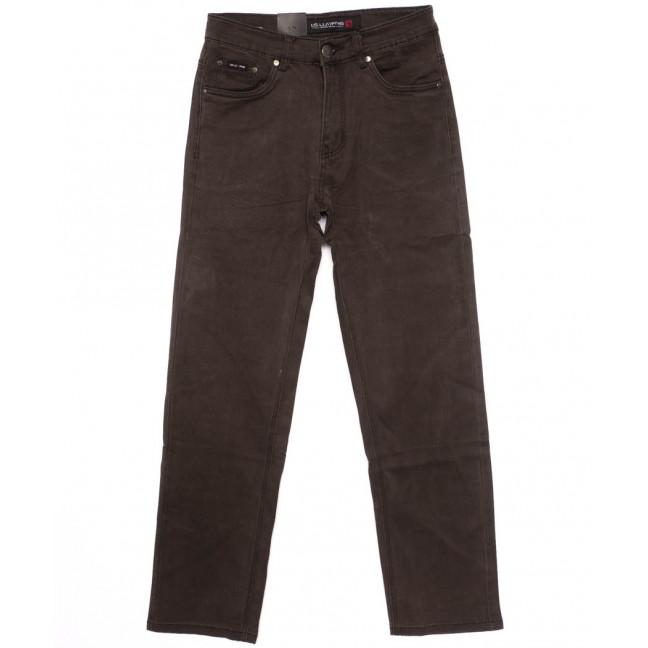 8804 LS джинсы мужские коричневые осенние стрейчевые (30-38, 8 ед.) LS: артикул 1098057