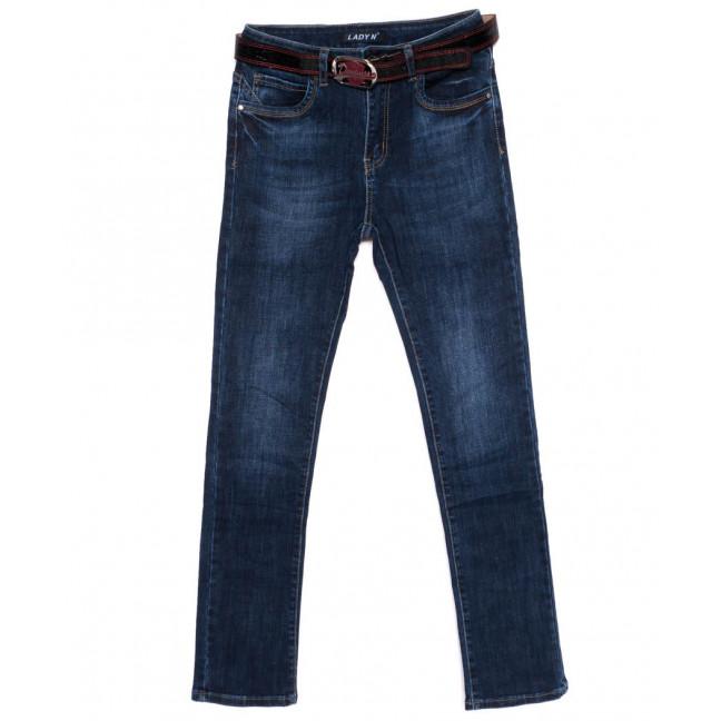 1420 Lady N джинсы женские батальные синие осенние стрейчевые (28-33, 6 ед.)  Lady N: артикул 1098190