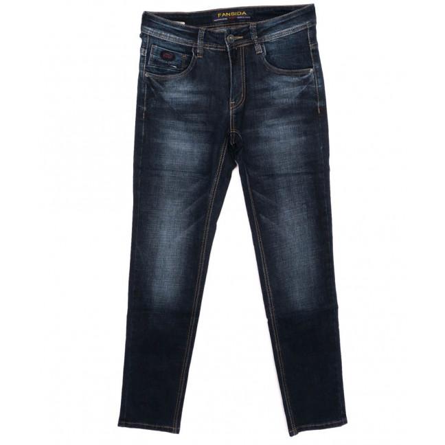 0696 Fansida джинсы мужские синие осенние стрейчевые (30-38, 8 ед.) Fansida: артикул 1098368