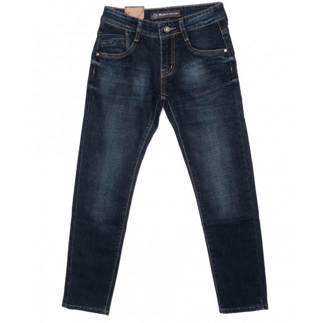 1950 Viman джинсы мужские молодежные синие осенние стрейчевые (25-30, 6 ед.)  Viman: артикул 1097341