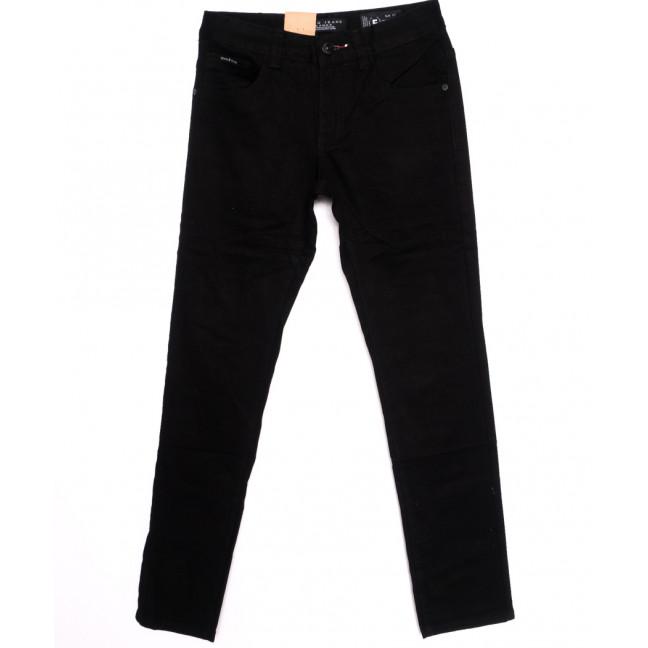 2158 Fang джинсы мужские молодежные черные осенние котоновые (28-34, 8 ед.) Fang: артикул 1097957