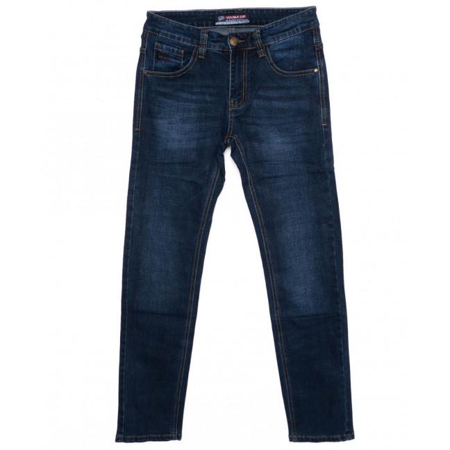 8017 Vouma-Up джинсы мужские синие осеннии стрейчевые (29-38, 8 ед.) Vouma-Up: артикул 1098567