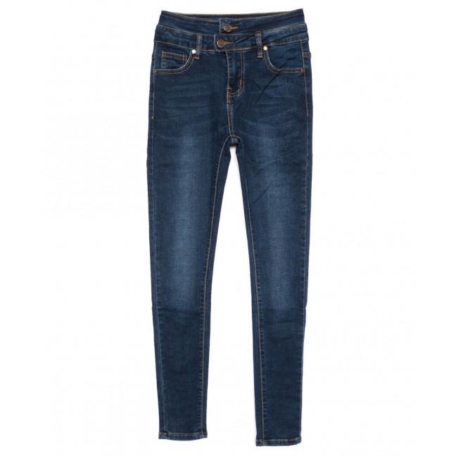 3447 New jeans американка синяя осенняя стрейчевая (25-30, 6 ед.) New Jeans: артикул 1099320