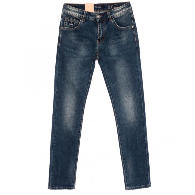 2181 Fang джинсы мужские синие осенние стрейч-котон (29-36, 8 ед.) Fang: артикул 1099001