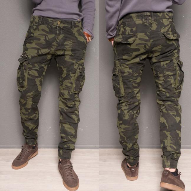 1870-army green Forex брюки мужские карго на флисе зимние стрейч-котон (38,40,40,40, 4 ед.) Forex: артикул 1099445