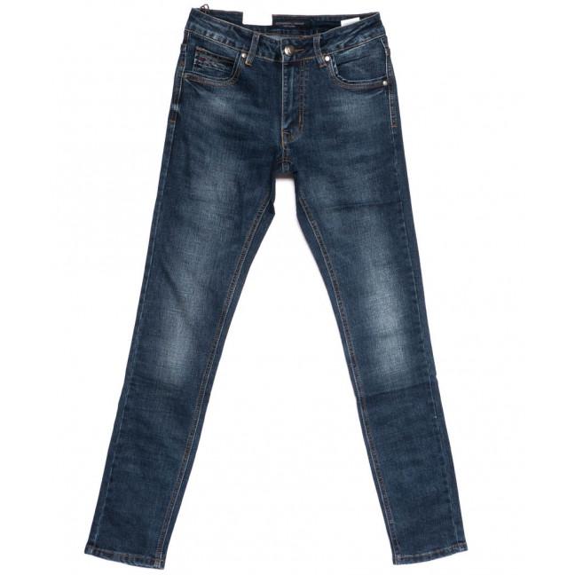 9291 God Baron джинсы мужские молодежные синие осенние стрейчевые (28-34, 8 ед.) God Baron: артикул 1099850