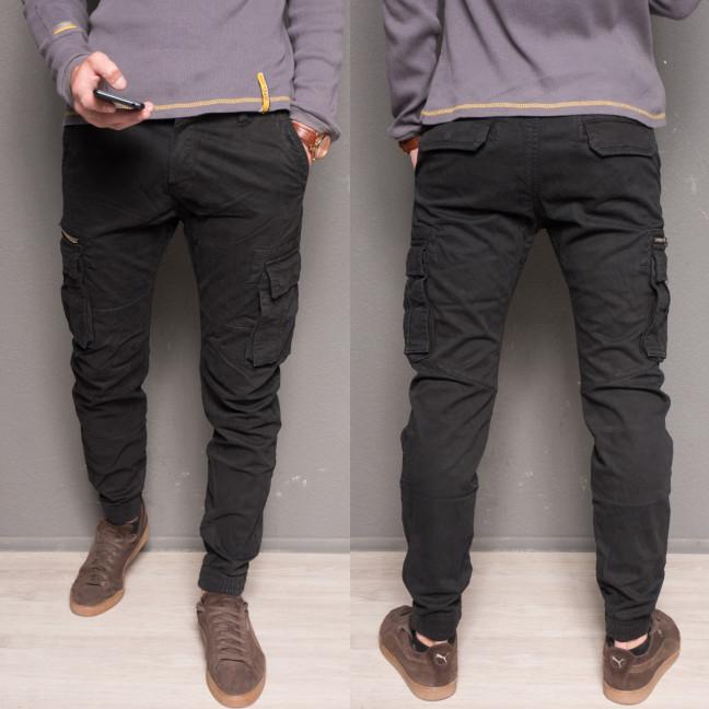 1868-07 dark blue Forex брюки мужские молодежные карго на флисе зимние стрейч-котон (36,38, 2 ед.) Forex: артикул 1099440