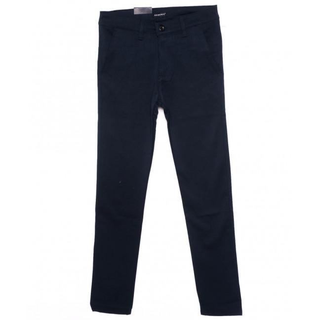 4461 Arquati брюки мужские синие осенние стрейчевые (29-38, 8 ед.) REDMAN: артикул 1098705