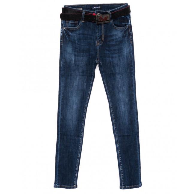 1437 Lady N джинсы женские батальные синие осенние стрейчевые (28-33, 6 ед.) Lady N: артикул 1099044
