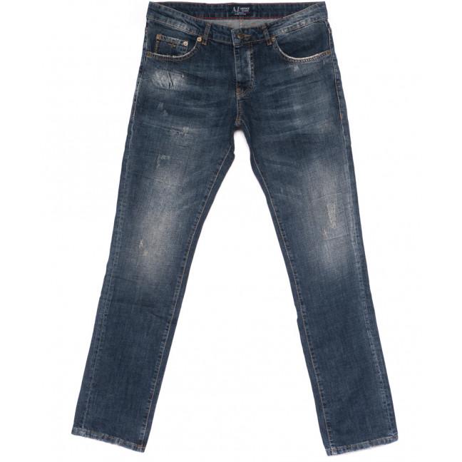 0020-21-015 (32-38) Armani джинсы мужские полубатальные с царапками осенние стрейчевые (32-38, 7 ед.) Armani: артикул 1099617